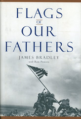 Novel-Flags-of-Our-Fathers-by-James-Bradley (Count_Strad) Tags: novel cover art coverart book western scifi wwii