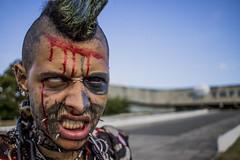 ZombiePunk (Pixel Enemy) Tags: tattoo tatuagem portrait retrato recife olinda pernambuco brasil brazil zombie zumbi canont3 efs24mmstm