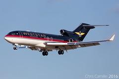 Weststar Boeing 727-023 'N800AK' LMML - 22.9.16 (Chris_Camille) Tags: boeing 727 weststar rare landing malta lmml