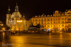 IMG_3136 (guyehrhard) Tags: prague tchequie place nuit illumination saintnicolas eglise