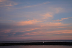 (lipsofcrimson) Tags: sunset toronto evening september autumn clouds sky lakeontario