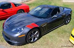 Corvette C6 Grand Sport (scott597) Tags: church sport downs grey kentucky hill grand louisville concours corvette c6 2012