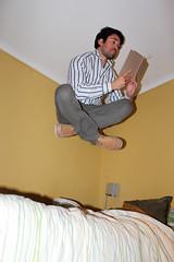Levitation (Mauricio Narea) Tags: levitation levitar bedjumping levitacin