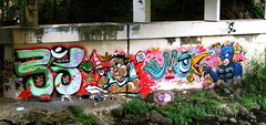 $WEET lil' Proddy (B3@K>o3) Tags: street streetart art birds graffiti hawaii paint puff honolulu mok blest mung beak03