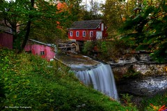 decew waterfalls (Rex Montalban Photography) Tags: ontario niagara waterfalls stcatharines hdr decew morningstarmill powerglen rexmontalbanphotography