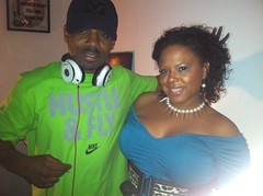 Tisha Lee and DJ Jay Roc