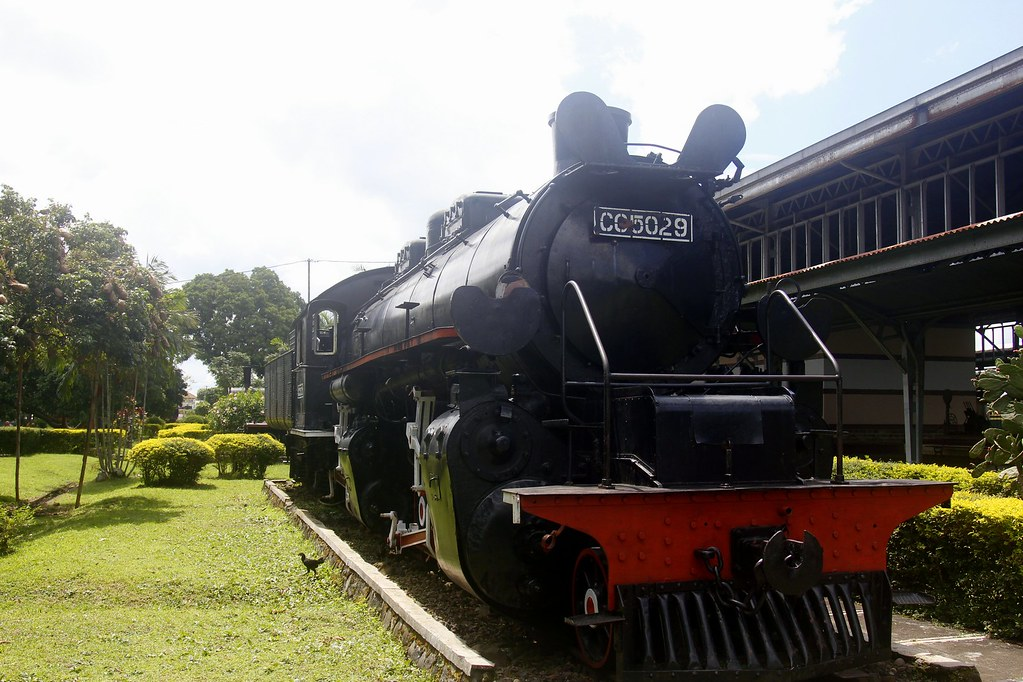Locomotive at the Ambarawa Train Museum, Bandungan and Kopeng, Central Java, Indonesia