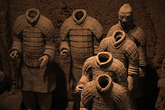 Underground Army (baddoguy) Tags: china trip travel horses archaeology museum underground army ancient tour terracotta chinese culture landmark icon xian journey silkroad warriors  archaeological iconic archeology highlight  dynasty archeological qin shaanxi excavation bingmayong toursim