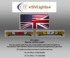 SV Lights working with UK and US Equipment (SVLIGHTS) Tags: blue light red rescue green lens liberty fire lights freedom coast justice team blood bars 911 guard police utility security ambulance led prison doctor edge halogen vehicle leds hart emergency recycling medic premier federal ultra aa rac hazard raf 9m strobe hems response sx optimax medics whelen tsg lightbar mountainrescue woodway lfl thompsongroup lightbars ledlightbar 9u co11 tir3 svlights ultraedge wecad whelenfreedomlightbar whelenjusticelightbar