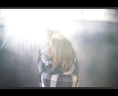 Squares in light (vonreichenbach) Tags: bridge blue light shadow black art dark lights licht model hands nikon heaven artist gallery fotografie nebel kunst fabrik himmel galerie kinder exhibition leipzig menschen braun blau frau brcke schatten modell schwarz mdchen ausstellung galery atelier austellung d90 fabrikhalle mygearandme flickrstruereflectionlevel1