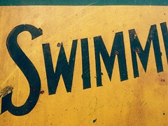 Swimm (misterbigidea) Tags: sf sanfrancisco street city urban signs car sign museum vintage landscape rust ride market letters railway cable historic muni faded transit handpainted rails type destination lettering roadside streetcar municipal signpainter