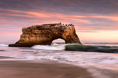 Forces at Work - Natural Bridges, Santa Cruz, California (Jim Patterson Photography) Tags: california statepark travel sunset sea santacruz beach nature landscape outdoors photography coast bravo shoreline scenic coastal shore naturalbridges jimpattersonphotography jimpattersonphotographycom seatosummitworkshops seatosummitworkshopscom