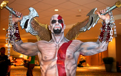 Kratos (Isidro Urena .) Tags: atlanta georgia costume dragon unitedstates cosplay videogames gaming event fantasy convention scifi dragoncon 2012 godofwar anual kratos