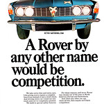 Rover P6 advert