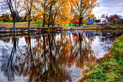 HDR Day! / Le jour du HDR (guysamsonphoto) Tags: autumn fall automne river rivière reflexions hdr victoriaville victo rivièreduquébec sigma30mmf28 rivièrenicolet guysamson sonynex7