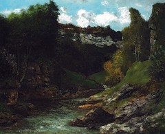 Gustave Courbert - Rocky Landscape at Museum of Fine Arts Budapest Hungary (mbell1975) Tags: art museum painting french landscape hungary gallery museu budapest fine arts rocky muse musee m museo muzeum gustave finearts mze museumuseum courbert