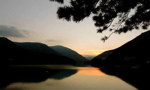 Il crepuscolo... (rospex) lago tramonto paesaggio crepuscolo laghi