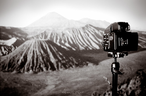 One film classic shooting another film classic shooting Mount Bromo - Mt Bromo, Indonesia