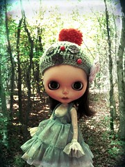 """This hat from """"My Blythe World by Artpopie"""""""