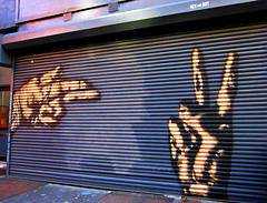 Icy & Sot (Goggla) Tags: street new york nyc streetart art graffiti hands mural soho fingers icy sot