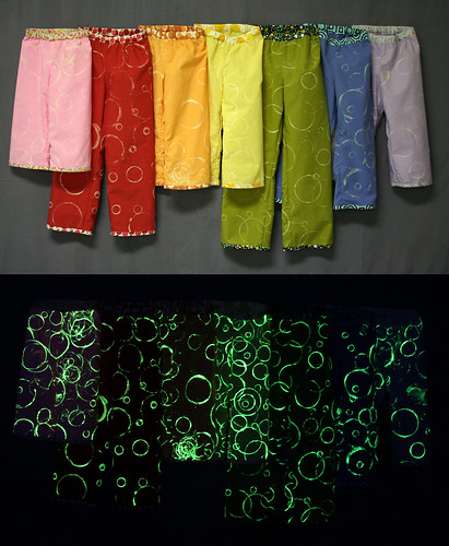 Glow in the Dark PJ pants!