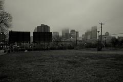 L1105790 (erlin1) Tags: 2012 leica leicam8 m8 minneapolis october october2012 v1 visible 50mmsummarit oldlens downtown fog blackandwhite