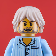 Kurt Cobain (The Little Artists) Tags: portraits lego nirvana kurtcobain legoart