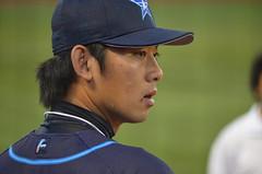 DSC_0579 (mechiko) Tags: 横浜ベイスターズ 120915 王溢正 横浜denaベイスターズ