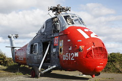 ROYAL NAVY RESCUE HELICOPTER XS885 (John Ambler) Tags: rescue graveyard plane ace navy royal helicopter clubs westland uks wessex rnas predannack has1 xs885 512dd