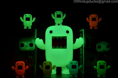 Happy Nightmare before Christmas! (WindUpDucks) Tags: christmas new york halloween dark jack neon comic glow before disney pop sally glowinthedark domo nightmare exclusive con qee 2012 funko skellington gid toy2r nycc glowindark exclusives