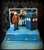 Doctor Who cake (Fantasticakes (Cécile)) Tags: doctorwho tardis flickrestrellas sugarmodelling