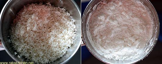 step 2 grind to fine flour