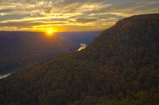 Signal Mountain Sunset