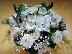White roses (chanelchat Rachel) Tags: flowers rose fleurs canon bunch bouquet arrangement thegalaxy rosewhite flickrhappy awesomeblossoms flowerarebeautiful rosesforeveryone chanelchat