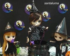 O bruxo Derek e as bruxinhas Valentine e Josephine!!