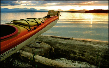 Sea kayak british columbia  by EC public domain