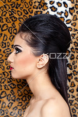 side view of a gorgeous young indian woman (people12kevins) Tags: woman beautiful beauty fashion female standing pose asian costume model glamour holding pretty eyelashes dress gorgeous profile earring makeup posing style indoors attractive backgrounds mascara studioshot lipstick posture sensuality cosmetics sideview youngadult hairstyle adultsonly oneperson stylish lookingaway eyeliner leopardskin falseeyelashes elegance fashionable headandshoulders femininity stagemakeup fashionmodel humanface onewomanonly oneyoungwomanonly asianethnicity attractivefemale indianethnicity 2024years leopardskindesign prof