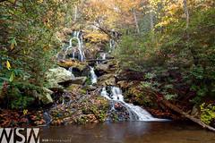 Catawba Lower Falls (Wizum) Tags: usa fall nature creek landscape waterfall nc hiking northcarolina hike 2012 catawba oldfort catawbafalls fall2012
