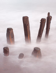 The Disaffected Group (Julian Barker) Tags: sea mist water coast long exposure yorkshire north whitby sandsend