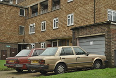 Woolwich, London (J@ck!) Tags: london vintage automobile triumph parked woolwich councilestate socialhousing se18 londonboroughofgreenwich