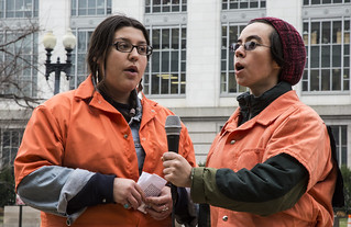 "Witness Against Torture: Erica and Chrissy Sing ""Courage, Muslim Brothers"""