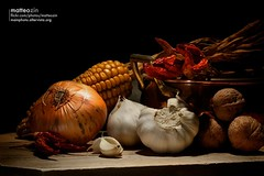 | life | (Mainphoto) Tags: old stilllife food nature set onions eat mais peppers compose