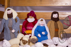 Knitivity or Knitted Nativity at St John The Baptist Church Dodworth (106) (PHH Sykes) Tags: church saint st john baptist knitted figures nativity the dodworth knitivity