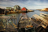 Beyond the Lobster Traps (sminky_pinky100 (In and Out)) Tags: sea house canada texture community rocks novascotia harbour hut peggyscove iconic lobstertraps artscape fushing coatal omot cans2s masterclassexhibition masterclasselite thenewmasterclass