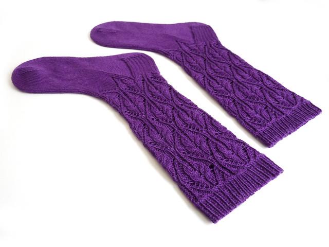 Lumene Socks by Mimi Hill for Eskimimi Makes