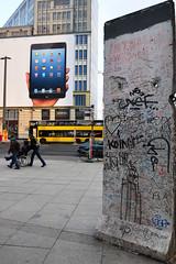 Berlin Wall & iPad (Stephen Whittaker) Tags: west berlin wall germany nikon wheelchair mini east tablet ipad d5100 whitto27