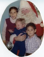 The 1972 Santa photo