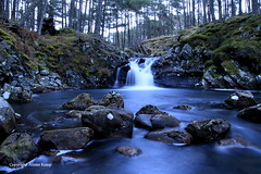 Waterfall - Scottish Highlands (Ally.Kemp) Tags: water scotland waterfall long exposure scottish boulders