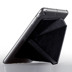 Black Ultra Thin Stand PU Case for iPad Mini (greenajoy) Tags: cute men modern stand cool women stylish pu durable ultrathin freeshipping hotselling ipadminicase blackcaseforipadmini ultrathincaseforipadmini standcaseforipadmini