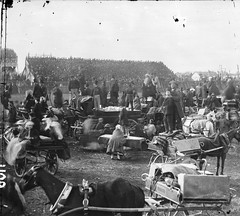 Roulette Wheel (National Library of Ireland on The Commons) Tags: ireland horses gambling picnic 19thcentury hats binoculars roulette 1860s crowds stands stereoscope carriages kildare leinster dealers punchestown grandstands racemeeting croupier roulettetable johnlawrence nationallibraryofireland stereopairs lawrencecollection binocularscase stereoscopiccollection stereographicnegatives jamessimonton frederickhollandmares
